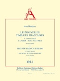 Nouvelles Timbales Francaises Volume 1 Jean Batigne laflutedepan.com