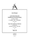 Nouvelles Timbales Francaises Volume 2 Jean Batigne laflutedepan.com
