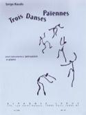 3 Danses Païennes Serge Baudo Partition laflutedepan.com