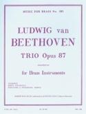 Trio Opus 87 BEETHOVEN Partition laflutedepan.com