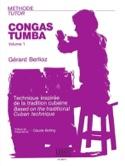 Méthode de Congas-Tumbas Volume 1 Gérard Berlioz laflutedepan.com