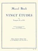 20 Etudes - Marcel Bitsch - Partition - Trompette - laflutedepan.com
