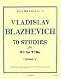 70 Etudes Volume 1 Vladislav Blazhevich Partition laflutedepan.com