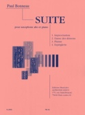 Suite - Paul Bonneau - Partition - Saxophone - laflutedepan.com