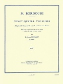 24 Vocalises M. Bordogni Partition Trompette - laflutedepan.be
