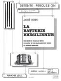 La batterie brésilienne samba volume 1 - Cuaderno 1 - laflutedepan.com