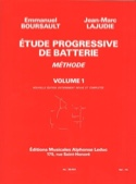 Etude Progressive de Batterie - Méthode Volume 1 laflutedepan.be