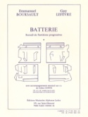 Batterie - Recueil de Partitions Progressives laflutedepan.com