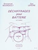 Déchiffrages Pour Batterie Volume 1 laflutedepan.com
