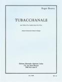 Tubacchanale Roger Boutry Partition Tuba - laflutedepan.com
