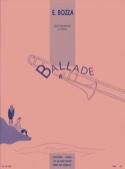 Ballade Eugène Bozza Partition Trombone - laflutedepan.com