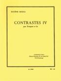 Contrastes IV Eugène Bozza Partition laflutedepan.com