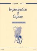 Improvisation Et Caprice - Eugène Bozza - Partition - laflutedepan.com