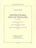 Petites études sur les tonalités Thierry Caens laflutedepan.com