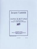 Concertino Jacques Castérède Partition laflutedepan.com