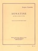 Sonatine Jacques Castérède Partition Tuba - laflutedepan.com