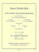 36 Etudes Transcendantes Théo Charlier Partition laflutedepan.com