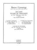 17 Etudes de Virtuosité Cummings Partition Tuba - laflutedepan.com