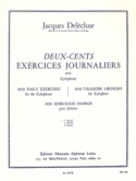 200 Exercices Journaliers Volume 1 Jacques Delécluse laflutedepan.com
