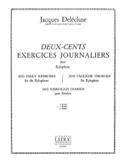 200 Exercices Journaliers Volume 2 Jacques Delécluse laflutedepan.com