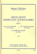 200 Exercices Journaliers Volume 3 Jacques Delécluse laflutedepan.com