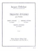 30 Etudes Volume 3 Jacques Delécluse Partition laflutedepan.com