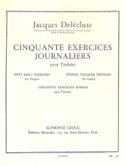50 Exercices Journaliers Jacques Delécluse Partition laflutedepan.com