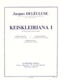 Keiskleiriana Volume 1 - 13 Etudes Jacques Delécluse laflutedepan.com