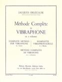 Méthode de Vibraphone Volume 2 Jacques Delécluse laflutedepan.com