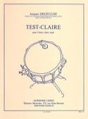 Test-Claire Jacques Delécluse Partition laflutedepan.com