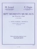 7 Moments Musicaux Volume 1 Petite Marche Et Bouboula - laflutedepan.com
