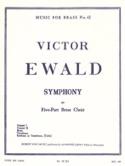 Symphony Victor Ewald Partition Ensemble de cuivres - laflutedepan.com