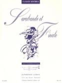 Sarabande et Finale Raymond Gallois-Montbrun laflutedepan.com