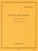 Suite Ancienne Maurice Jarre Partition laflutedepan.com