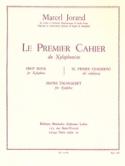 Premier cahier du xylophoniste - Marcel Jorand - laflutedepan.com