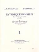 Rythmiques Binaires Volume 1 Juskowiak / Marseille laflutedepan.com
