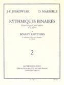 Rythmiques Binaires Volume 2 Juskowiak / Marseille laflutedepan.com