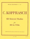 60 Selected Studies Georg Kopprasch Partition Tuba - laflutedepan.com