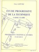 Etude Progressive de la Technique Volume 1 laflutedepan.com