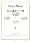 Snare System Volume 1 - 20 Etudes Frédéric Macarez laflutedepan.com