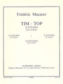 Tim-Top - 12 Etudes Frédéric Macarez Partition laflutedepan.com