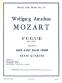 Fugue MOZART Partition Ensemble de cuivres - laflutedepan.com