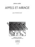 Appels Et Mirage Jérôme Naulais Partition Trombone - laflutedepan.com
