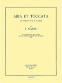 Aria Et Toccata - Raymond Niverd - Partition - laflutedepan.com