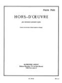 Hors-d' Oeuvre Pierre Petit Partition laflutedepan.com