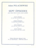 7 Episodes Adam Polachowski Partition Caisse-claire - laflutedepan.com
