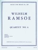 Quartet N° 4 Wilhelm Ramsöe Partition laflutedepan.com