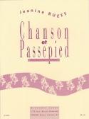 Chanson et passepied - Jeanine Rueff - Partition - laflutedepan.com