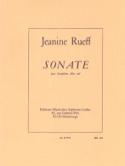 Sonate Jeanine Rueff Partition Saxophone - laflutedepan.com