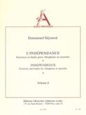 Indépendance Volume 6 Emmanuel Séjourné Partition laflutedepan.com
